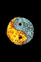 fire n ice yin yang