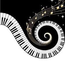 piano keys spiral